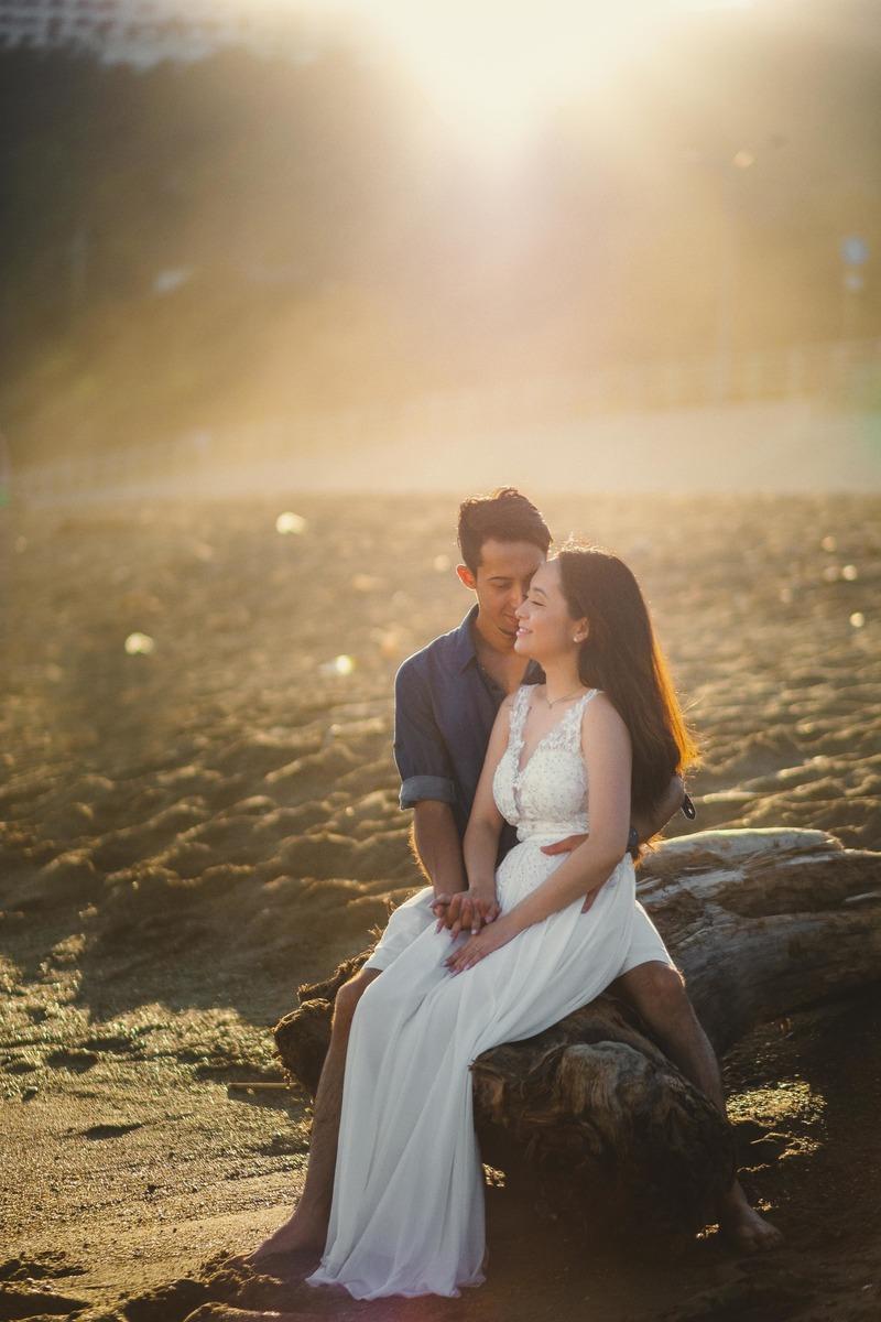 prewedding no japao, curso de fotografia no japao, fotografo brasileiro no japao, ensaio na praia do japao