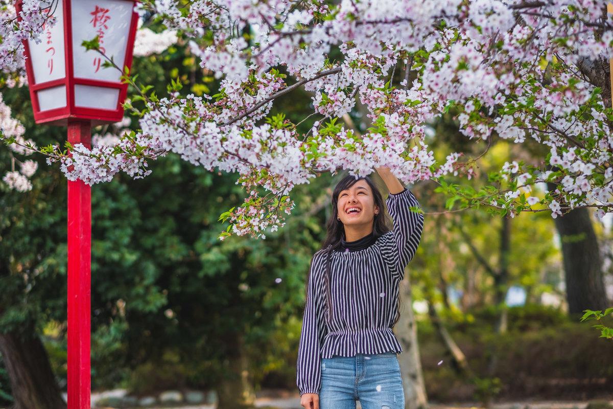 primavera no japao, ensaio debutante no japao, flor de cerejeira, fotografo brasileiro no japao.