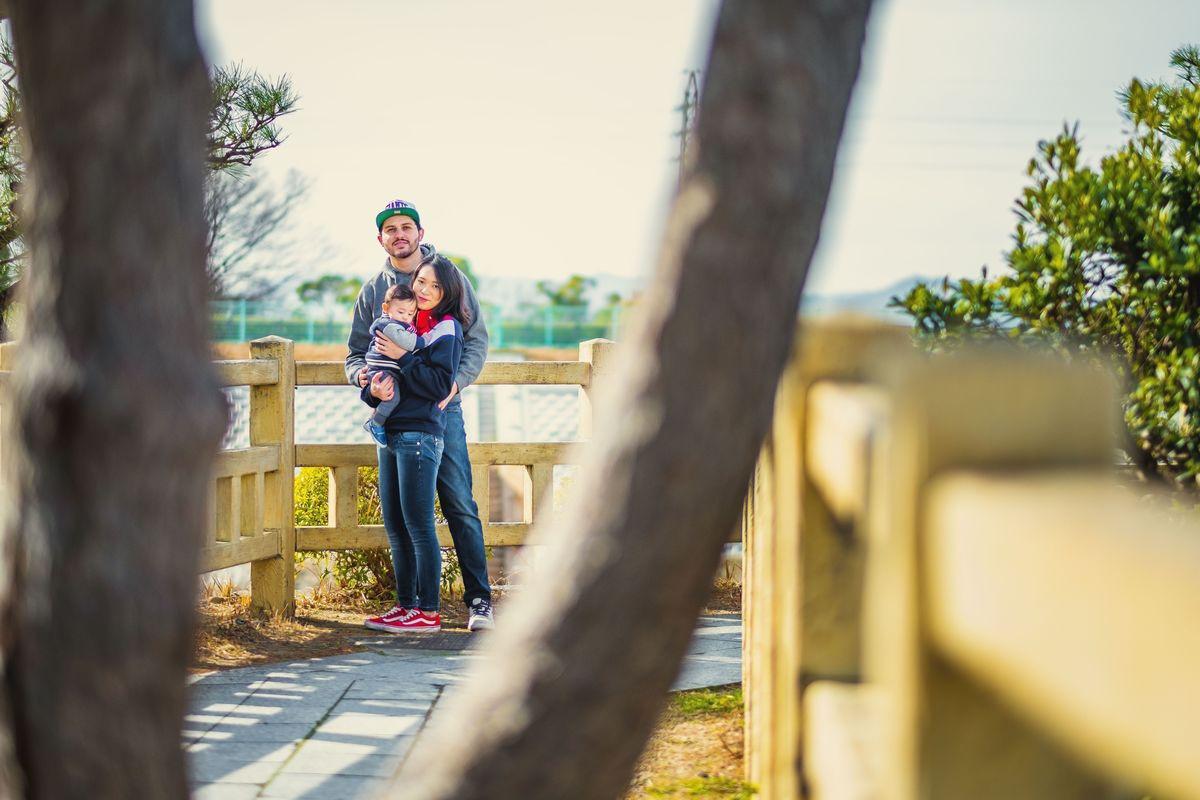 ensaio familiar no Japão, fotografo no Japão, fotografo brasileiro no Japão, ensaio em aichi, ensaio em Okazaki
