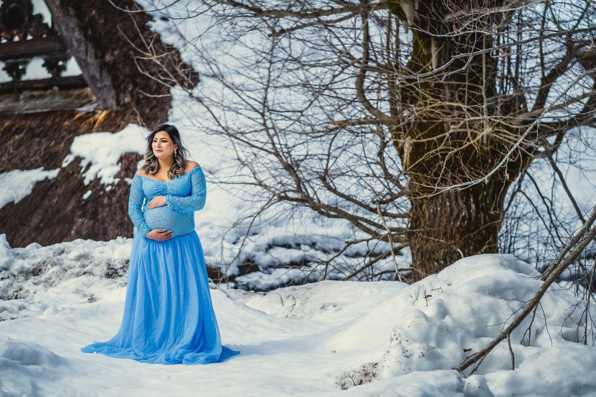 ensaio gestante na neve, ensaio em Shirakawa gestante, ensaio no japao, fotografo no japao, ensaio familiar no japao
