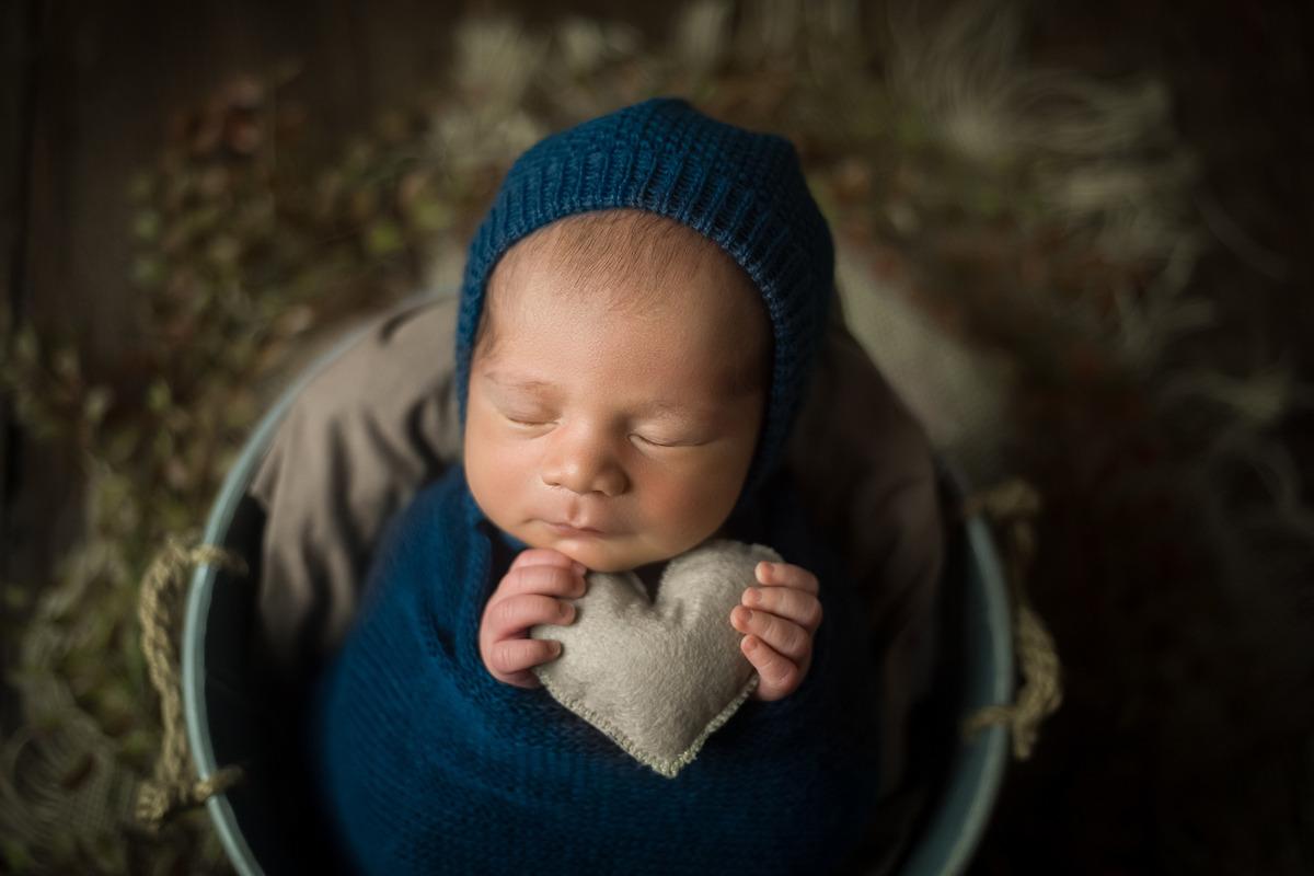 Ensaio Newborn Benjamin - Workshop VIP