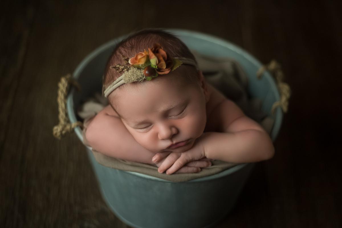 Ensaio Newborn Melissa - Workshop VIP
